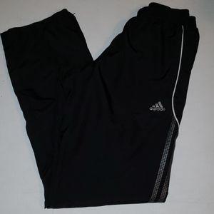 Adidas Black jog pants lined size xs climalite